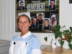 Maria played a hospital nurse in Heartbeat for 9 years.